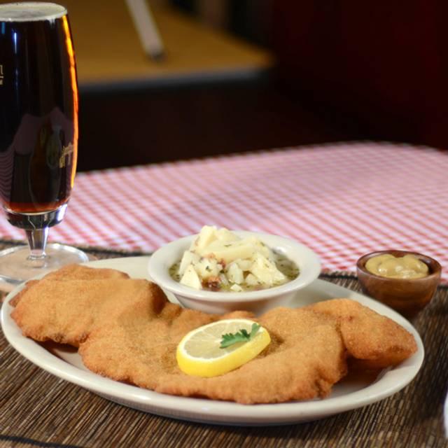 Wiener Schnitzel - Kings Biergarten & Restaurant, Pearland, TX