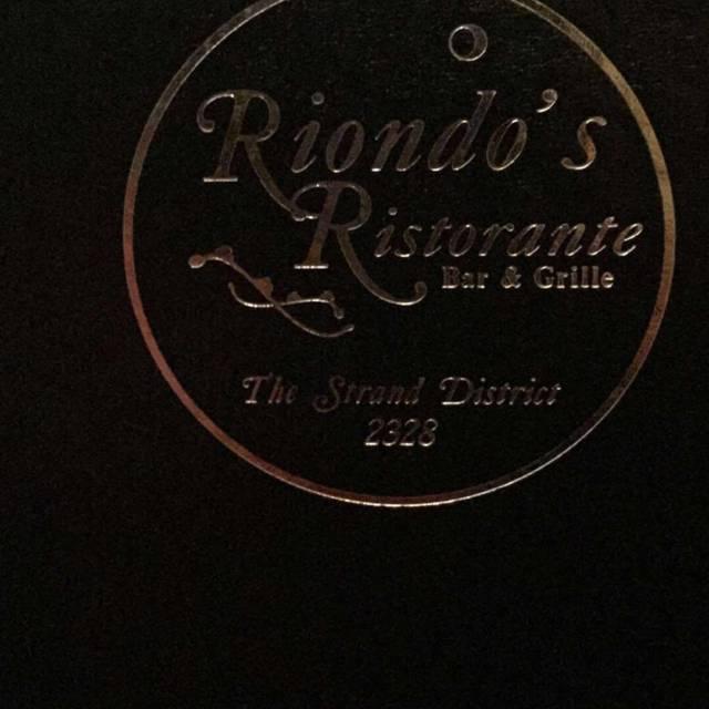 Riondo's Ristorante, Galveston, TX
