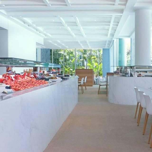 Terraces Restaurant - Sheraton Grand Mirage Resort - Main