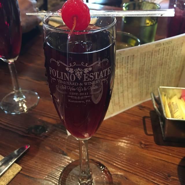 folino estate vineyard winery restaurant kutztown pa