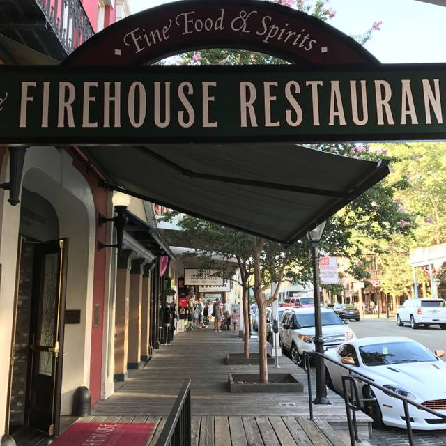 The Firehouse Restaurant, Sacramento, CA