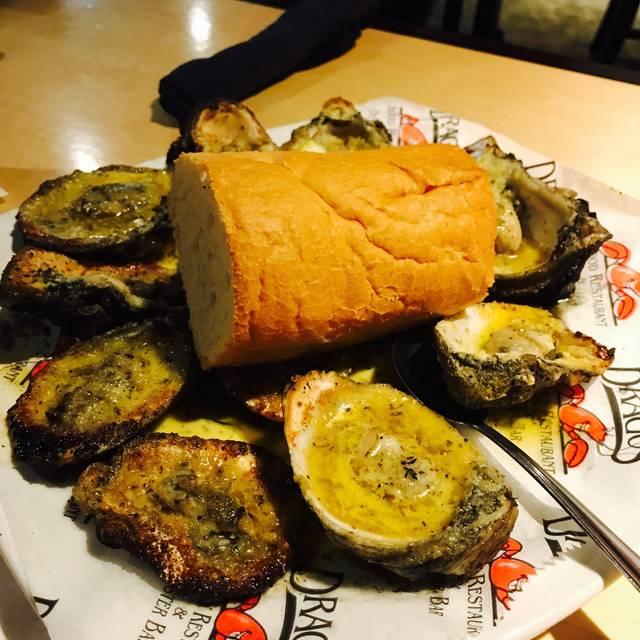 Drago Seafood Restaurant Menu Jackson Ms