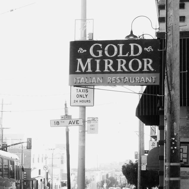 Gold Mirror Italian Restaurant, San Francisco, CA