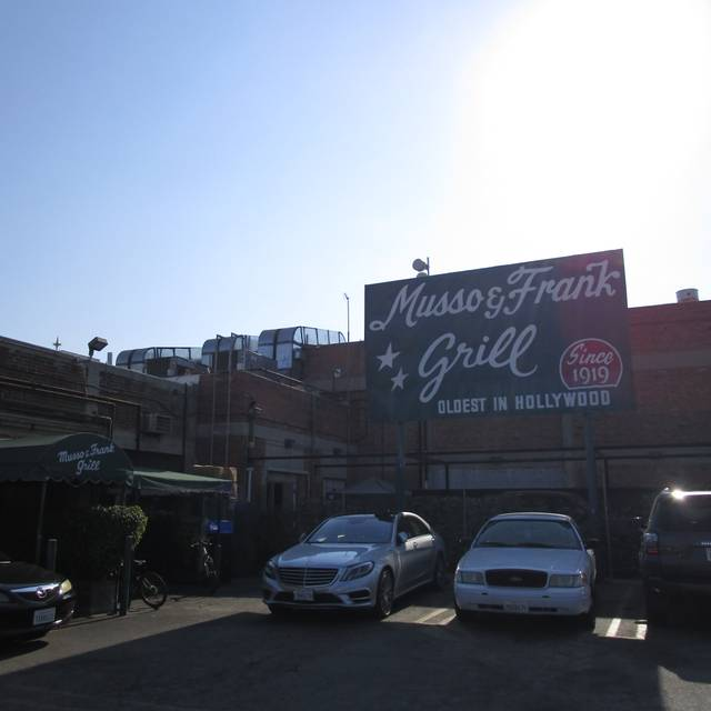 Musso & Frank Grill, Los Angeles, CA