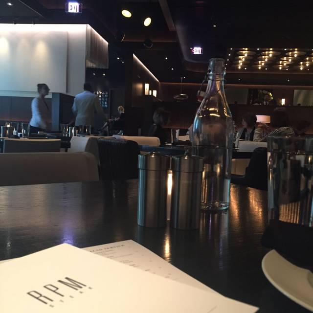 RPM Steak Restaurant - Chicago, IL | OpenTable