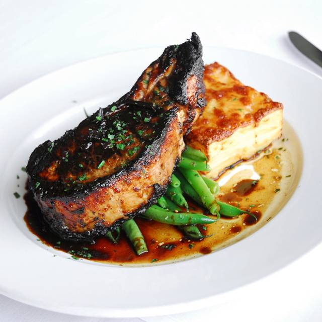 Grilled Pork Chop - Fonz's Restaurant, Manhattan Beach, CA