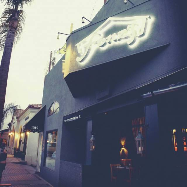 Fonz S Restaurant Manhattan Beach Ca