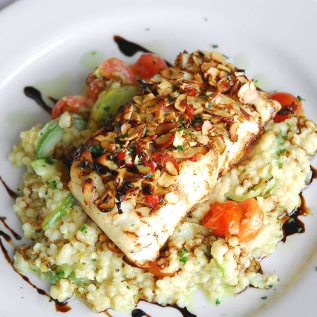 Grilled Halibut - Fonz's Restaurant, Manhattan Beach, CA