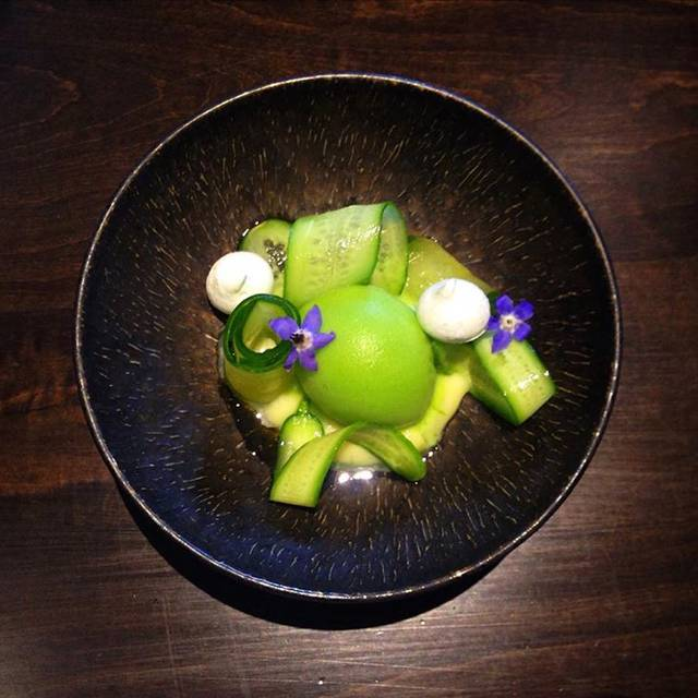 cucumber, lime, zucchini - Acadia, Chicago, IL