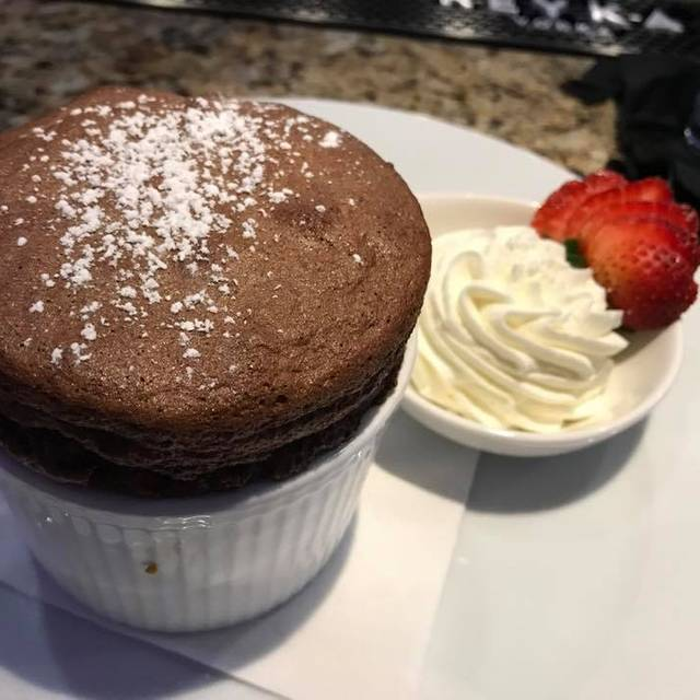 Chocolate Souffle - Next Bistro, Colleyville, TX