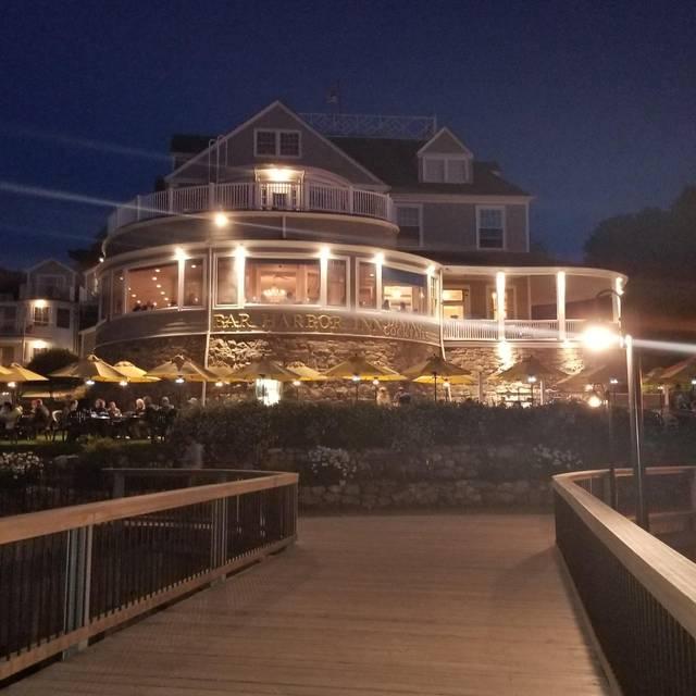 Reading Room Restaurant At The Bar Harbor Inn Bar Harbor Me
