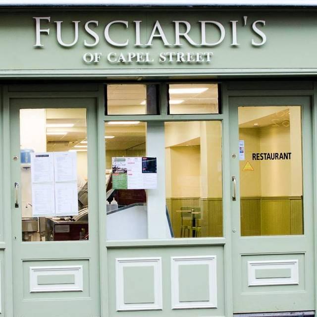 Fusciardi's of Chapel Street - Fusciardi's of Capel Street, Dublin, Co. Dublin