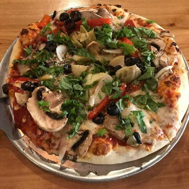 Garden Pizza - Gondolier Italian Eatery, Boulder, CO