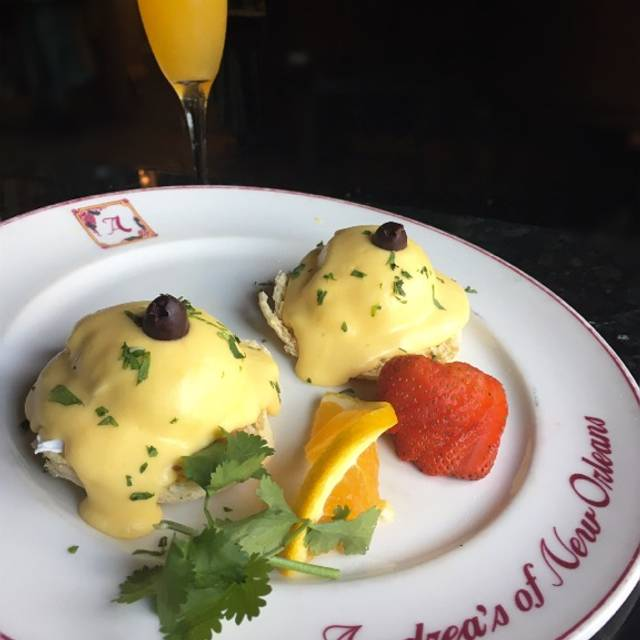 Eggs Benedict - Andrea's, Metairie, LA