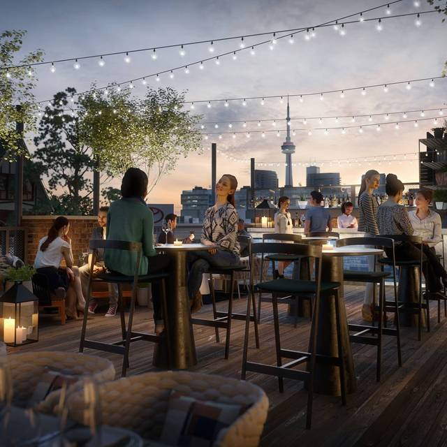 Rooftop At The Broadview Hotel - Rooftop Bar at the Broadview Hotel, Toronto, ON