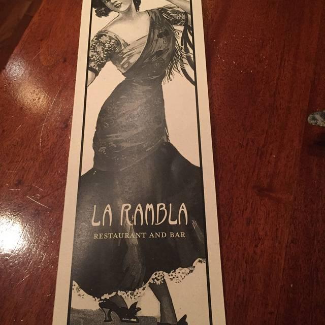 La Rambla Restaurant & Bar, McMinnville, OR