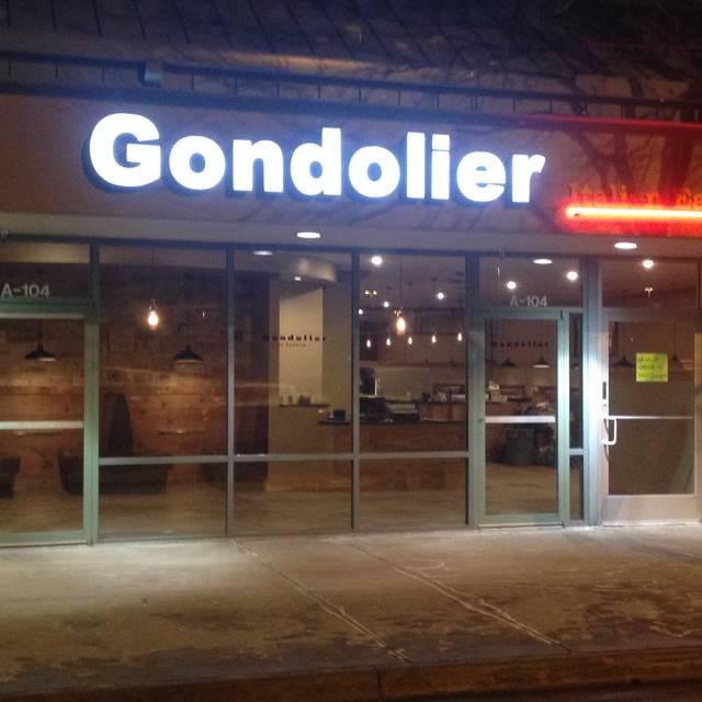 Gondolier Italian Eatery, Boulder, CO