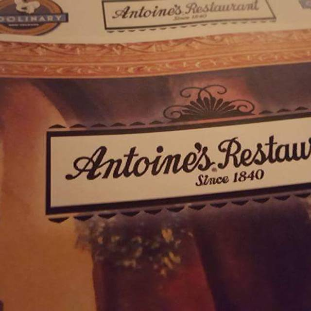Antoine's, New Orleans, LA