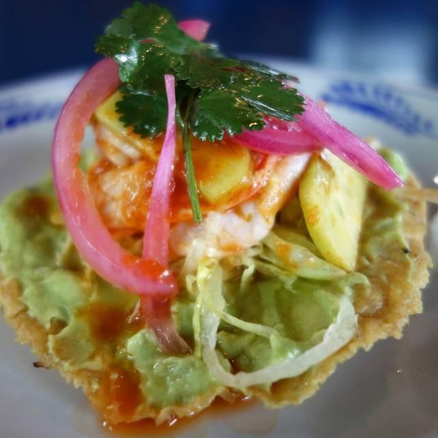 Crispy tostada  - The Fruteria, San Antonio, TX