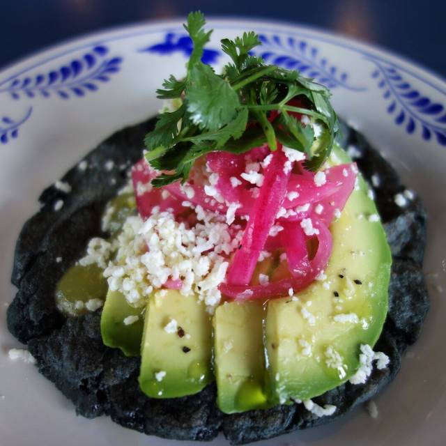 Fresh side of avocado w/ pickled onion - The Fruteria, San Antonio, TX
