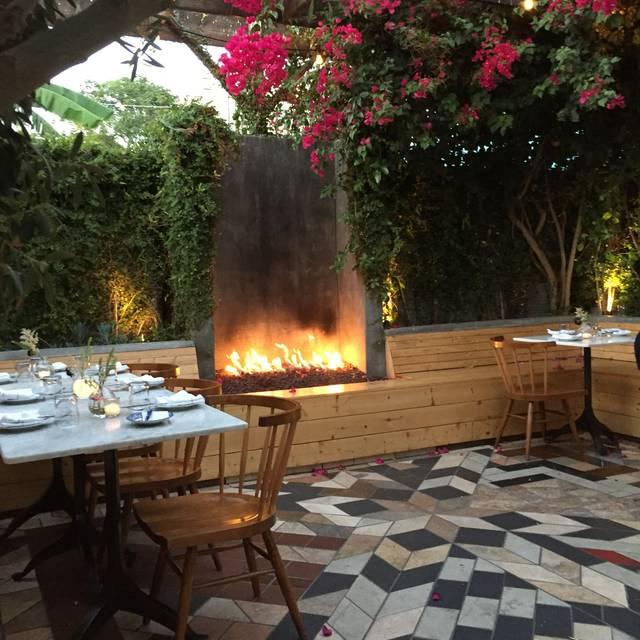 Sawyer Restaurant, Los Angeles, CA