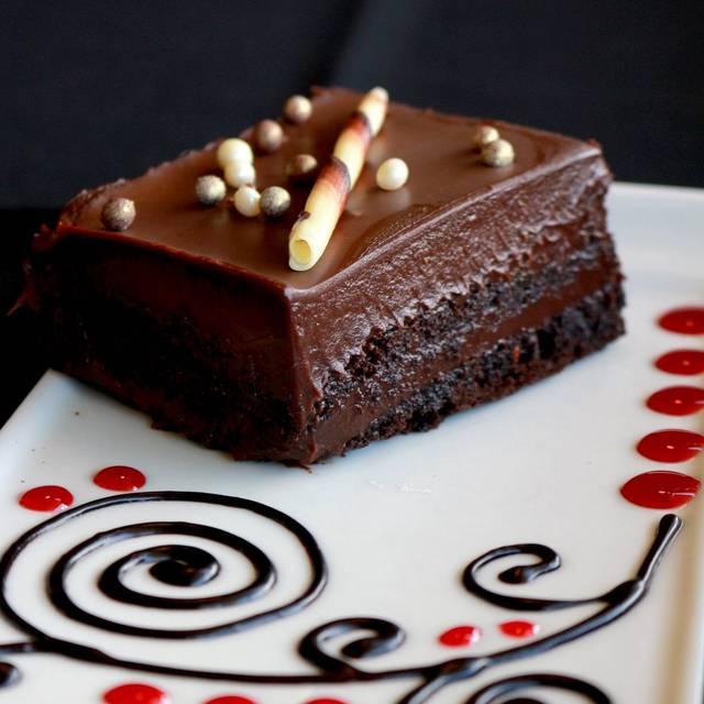 Chocolate Cake - Tiramisu Bistro, Edmonton, AB