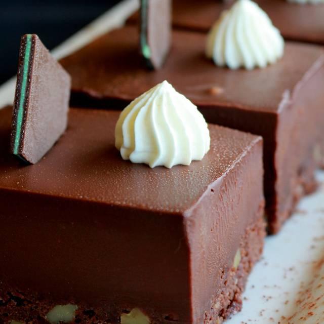Chocolate Brounie - Tiramisu Bistro, Edmonton, AB