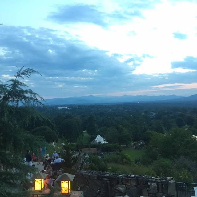 Sunset Terrace - Omni Grove Park Inn, Asheville, NC