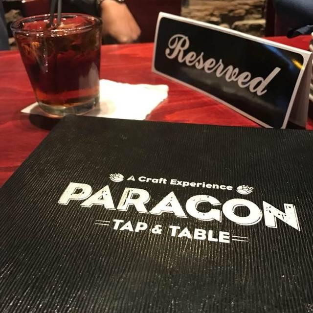Paragon Tap & Table, Clark, NJ