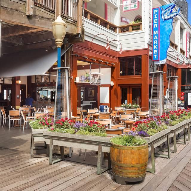 Pier market seafood restaurant pier 39 sf san for Fish market restaurant san diego