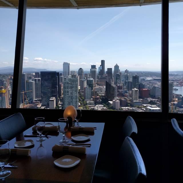 SkyCity Restaurant at the Space Needle, Seattle, WA