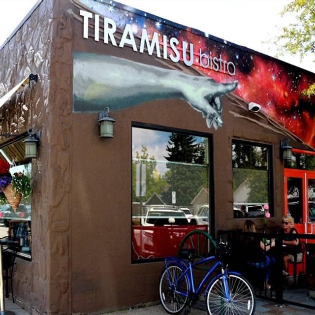 Tiramisu Bistro, Edmonton, AB