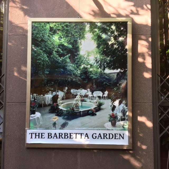 Barbetta Restaurant, New York, NY