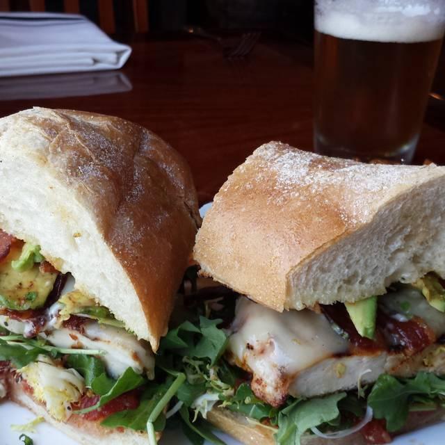 Chicken Sandwich - Napa Valley Bistro, Napa, CA