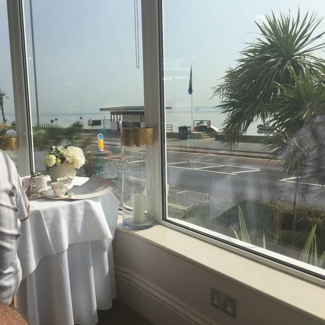 Afternoon Tea at the Roslin Beach Hotel, Southend-on-Sea, Essex