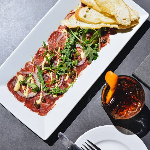 Stanley's Bar & Grill Beef Tenderloin Carpaccio - Stanley's Bar and Grill, Vancouver, BC