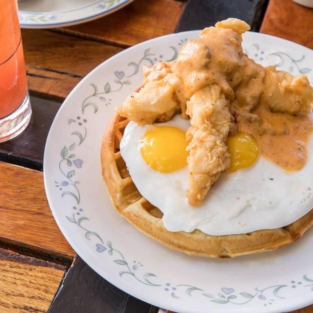 Chicken And Waffles - Whiskey Cake - OKC, Oklahoma City, OK