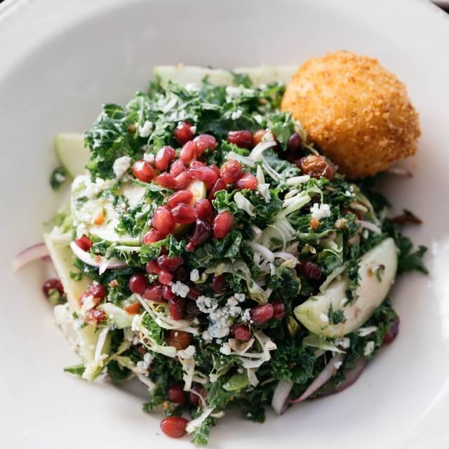 Kale And Pomegranate Salad - Whiskey Cake - OKC, Oklahoma City, OK