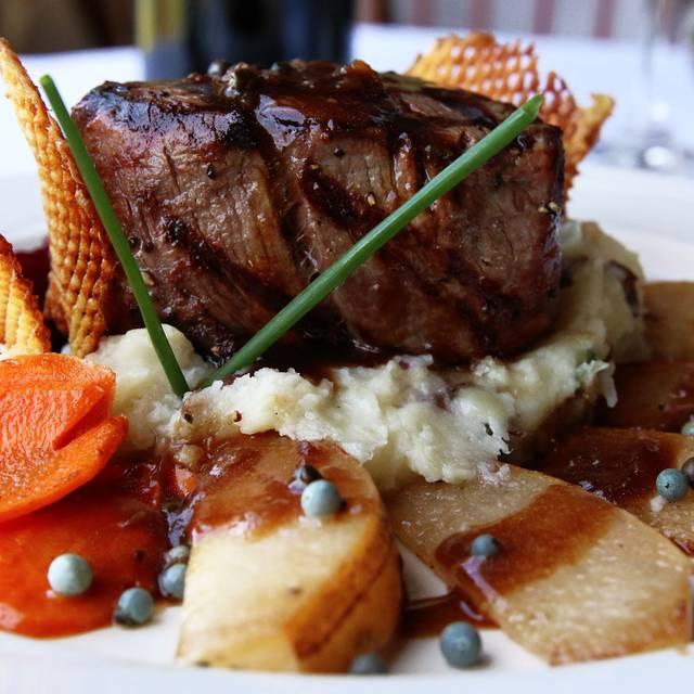 Filet Mignon Steak - Albion River Restaurant - Albion River Inn, Albion, CA