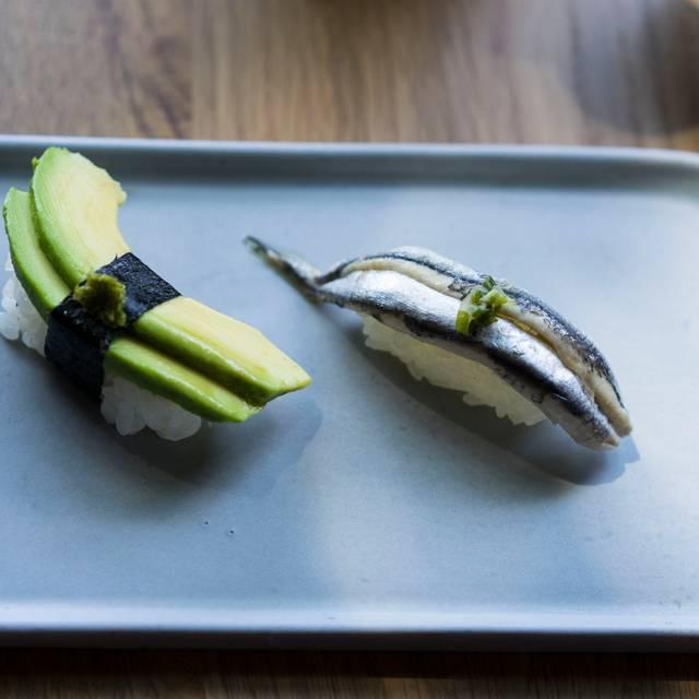 Avocado Nigiri - Boquerones Nigiri - Uchi Dallas, Dallas, TX