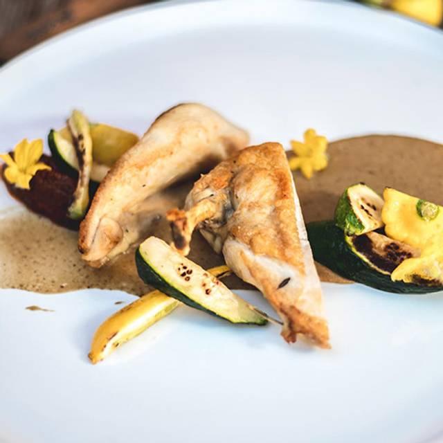Roasted-chicken-breast - Alpina Restaurant at Villa Eyrie Resort, Malahat, BC