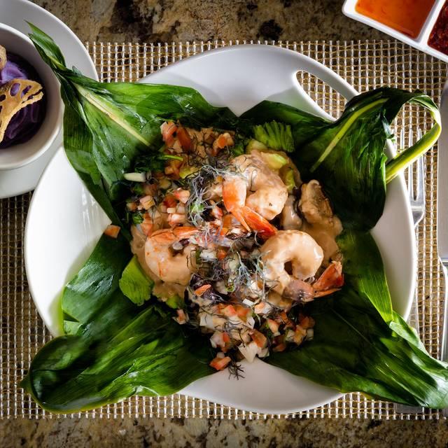 Seafood Laulau - Kō at Fairmont Kea Lani, Wailea, HI