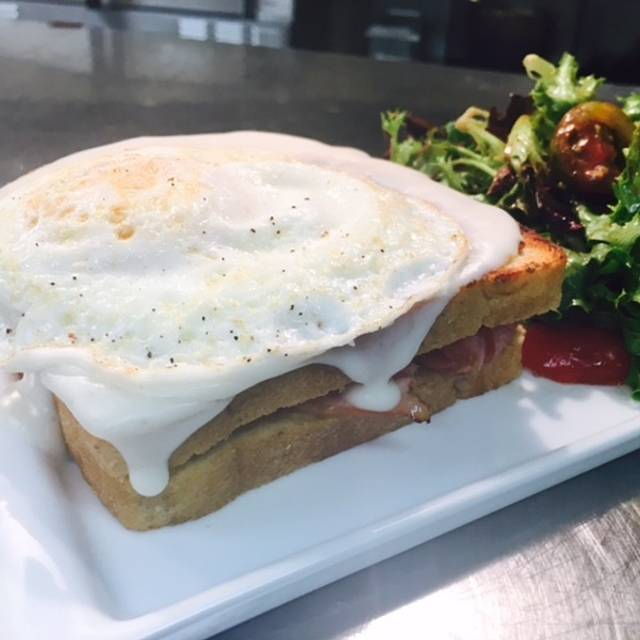 Croque Madame  - NM Cafe at Neiman Marcus - Northpark, Dallas, TX