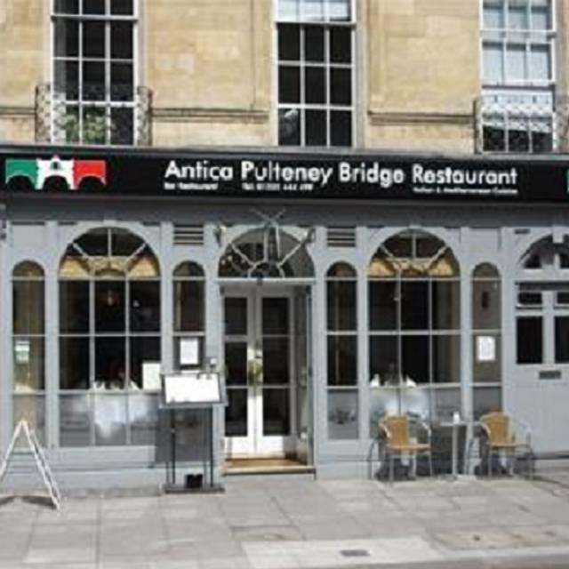 Antica - Antica Pulteney Bridge Restaurant, Bath, Somerset