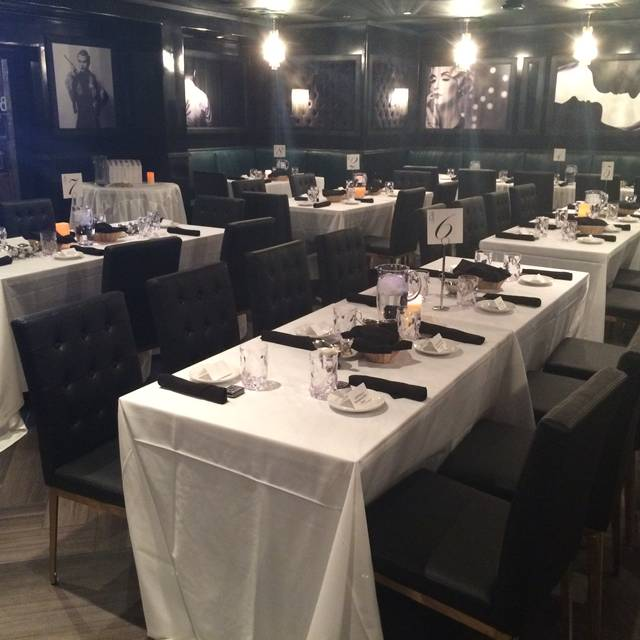Our Dinning Room Set Up For A Wedding - Barcelona Tapas Restaurant @ Artisan Hotel, Las Vegas, NV