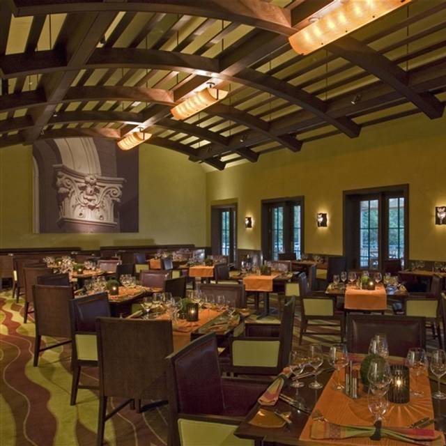 Stories Fine Dining Establishment at Hyatt Regency Lost Pines, Cedar Creek, TX