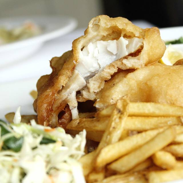 Fish And Chips - Alma Nove, Hingham, MA