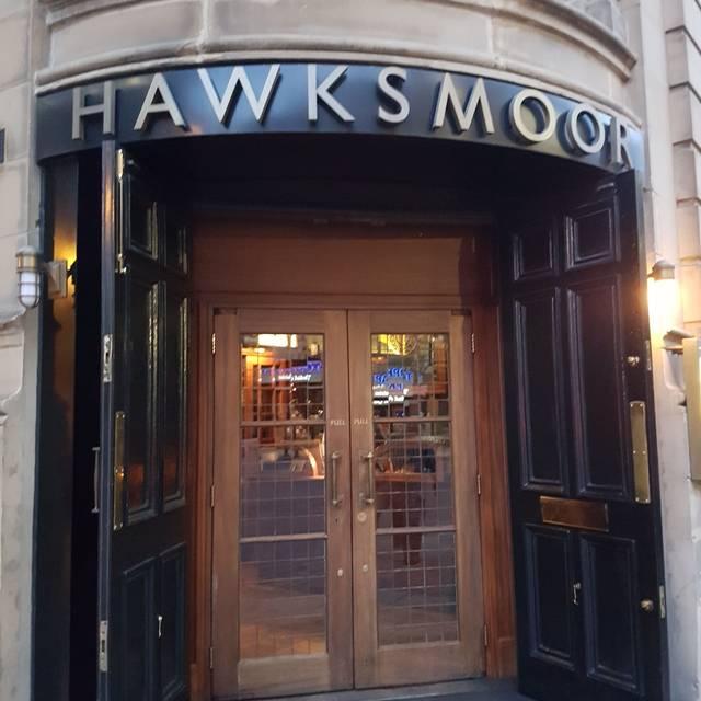 Hawksmoor Private Dining Room Sharing Menu