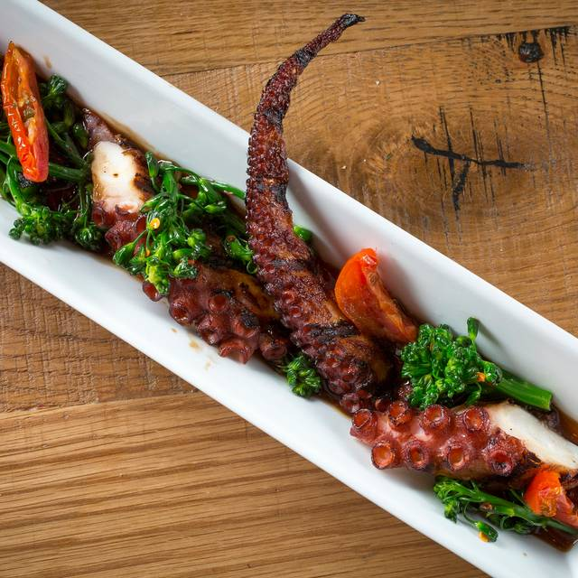 Charred Spanish Octopus - MB Steak - Hard Rock Hotel, Las Vegas, NV
