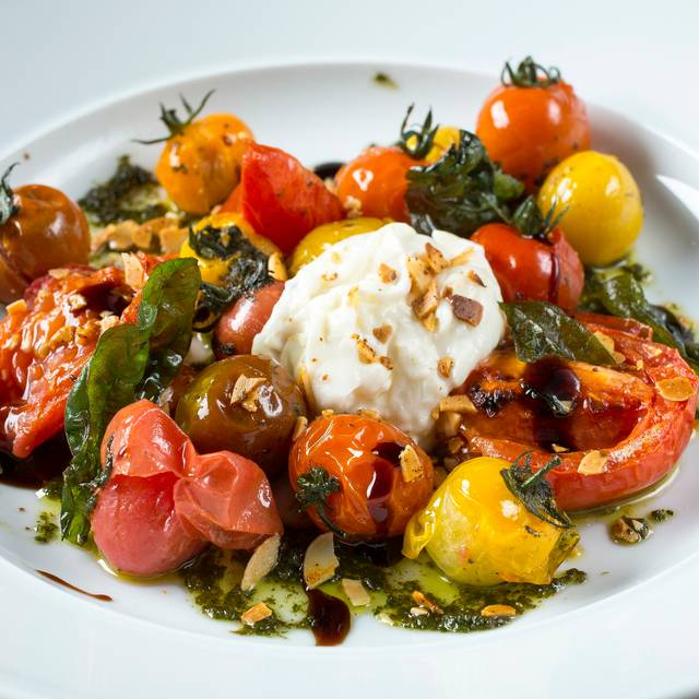Heirloom Tomato & Burrata - MB Steak - Hard Rock Hotel, Las Vegas, NV